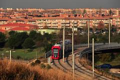 Alstom Citadis 302 #109 Madryt Metro de Ligero (3x105Na) Tags: madrid tram alstom 109 302 strassenbahn tramwaj madryt hiszpania citadis metrodeligero