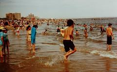 Coney Island (slightheadache) Tags: nyc newyorkcity summer newyork film beach brooklyn coneyisland pentax pentaxk1000 filmcamera coney expired sensia expiredfilm 2014
