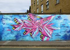 ASTEK (surreyblonde) Tags: uk urban streetart london art canon graffiti letters spray shoreditch characters walls cans graff eastend bethnalgreen endoftheline astek g15 meetingofstyles eotl writibg surreyblonde mos2014