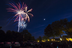 Fireworks July 3rd Kennesaw, GA (GarrettAndersonPhotography) Tags: county sky night canon photography downtown photographer angle fireworks wide 4th july garrett anderson passion third cobb 3rd kennesaw t4i