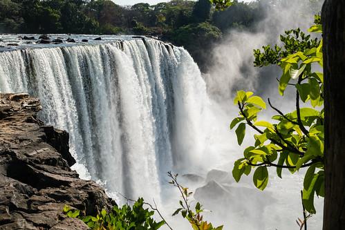 Lumangwe Fall, Sambia
