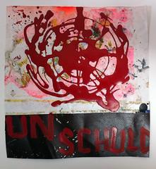 UNSCHULD, 140714, 19 x 19 (Hermann Josef Hack) Tags: painting un unitednations spraypaint tarpaulin unschuld hermannjosefhack