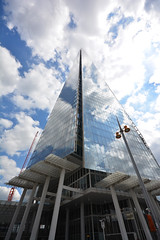 Shard copy 026 (photospencer) Tags: glass clouds reflections shard londonbridgestation theshard