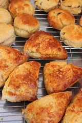 Home made scones (Graham`s pics) Tags: food cooking fruit cheese baking cook snack scone scones plain bake gspiccies