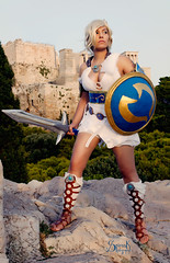 Evangelia as Sophitia Alexandra from Soul Calibur series (SpirosK photography) Tags: game cosplay soul videogame soulcalibur calibur videogamecharacter costumeplay sophitia sophitiaalexandra