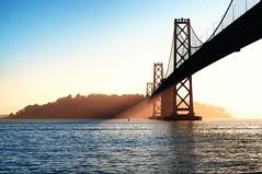 Bright, Bright, Bright (Sunshiney Day) (CarbonNYC [in SF!]) Tags: sf bridge baybridge bay water ocean lanscape scenic vista sanfrancisco bayarea california carbonnyc carbonsf