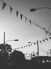 moco fair (mennyj) Tags: birthday park county summer laura amusement blackwhite angles maryland moco fair flags montgomery 2014 spoffy
