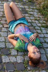 IMG_2014_08_06_4612 (piotr_szymanek) Tags: dominika portrait outdoor session woman girl legs young skinny fashion 1k fromabove