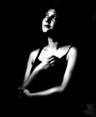 Soft focus (Giovanni Savino Photography) Tags: portrait blackandwhite papernegative portraiture softfocus 4x5 studioportrait gianna primitivism pictorialism caffenolc softfocuslens magneticart giovannisavino giannacioffi gundlachmanhattanlens