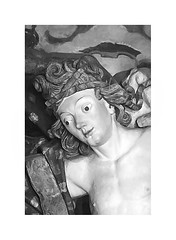 Anjo com Clice - Detalhe / Aleijadinho (Eugenio Carrer) Tags: arte congonhas aleijadinho santuriodobomjesusdematosinhos anjocomclice