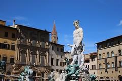 Fontana del Nettuno (rvr) Tags: italy statue florence italia florencia estatua