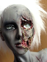 Lazarus (Sadomina) Tags: dead doll zombie creepy gore horror undead bjd corpse abjd maggots lazarus walkingdead ringdoll sadomina