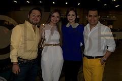 0067. Jacobo Cavazos, Marimar Ovidio, Diana Santos y Jesús Santos.