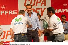 Pedro Campos, vencedor de la Copa del Rey MAPFRE por séptimo año