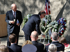 "Tribute roses presented at tombs of Gerald and Betty Ford by Trustees Vaden Bales and Greg Willard • <a style=""font-size:0.8em;"" href=""http://www.flickr.com/photos/55149102@N08/14897758385/"" target=""_blank"">View on Flickr</a>"