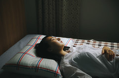### (Jung Eul Sun) Tags: portrait woman girl bed lonely eulsunjung
