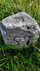 Fifty Seven (Crochuir MacCarthaigh) Tags: numbers granite milestone royalcanal