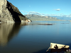 Buffalo Bill reservoir Wyoming (roupiedesinge) Tags: voyage usa wyoming cody gobet
