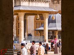 _3317796.jpg (Syria Photo Guide) Tags: city minaret tomb mosque syria aleppo  greatmosque   umayyad  mamluk umayyadmosque   seljuq greatmosqueofaleppo      aleppogovernorate alepporegion danieldemeter syriaphotoguide