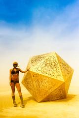 309. Delta (prenetic) Tags: storm green girl metal gold desert mask alice salt goggles shapes delta playa burningman blackrockcity bm dust duststorm polygons polyhedron blackrockdesert deltahedron bm2014 burningman2014