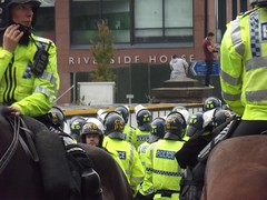 EDL March Rotherham Abuse Scandal (97) (Chris.,) Tags: uk england police abuse rotherham southyorkshire demonstrationmarch edl riversidehouse rotherhamcouncil englishdefenceleague sept2014 creativecommons4