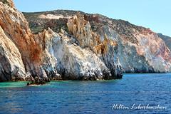 As Cores de Milos - Cyclades - Grcia (Hilton Lebarbenchon) Tags: sea copyright colors cores mar europa cyclades milos grcia cclades mediterrneo maregeu hiltonlebarbenchonphotos milosadventure