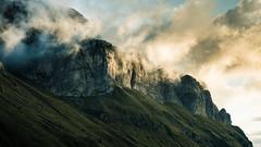 Les Tours d'Areu (dibaer) Tags: cloud mountain france alps nature montagne alpes sunrise landscape nuage paysage leverdesoleil hautesavoie d600 nikond600 lestoursdareu vallondoran