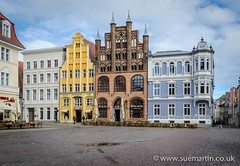 Market Square (Smartin69) Tags: street old city windows urban house building history tourism architecture facade germany town cafe ancient colorful europe cityscape market townhouse traditional culture landmark baltic medieval historic cobblestone historical marketplace picturesque stralsund strahlsund