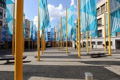 Place de la Justice, Brussels, Belgium (martinsight) Tags: brussels de la justice place belgium flags