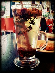 tea (difsus) Tags: cup glass rose tea tasty pixlr