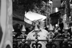 Pinned (archonline) Tags: people bw streets humor akb archanakb