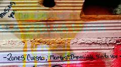 Lunes cuesta, martes imposible sin tu voz. (lachicaendless) Tags: street españa ladrillo art wall pared graffiti calle spain arte leon sin tu voz poetica lunes martes cuesta accion imposible accionpoetica leonesp