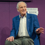 Nicholas Parsons at the Edinburgh International Book Festival