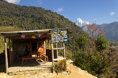 Hill-Top Rest-House & Restaurant, Dubin Danda, Annapurna Base Camp trek, Nepal (Matt-Zimmerman) Tags: nepal camp trek base annapurna himalayas hilltop danda durbin ghandruk westernregion