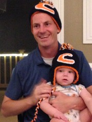 "Daddy in Chicago Bears Hat at Paul's First Birthday Party • <a style=""font-size:0.8em;"" href=""http://www.flickr.com/photos/109120354@N07/15360624276/"" target=""_blank"">View on Flickr</a>"