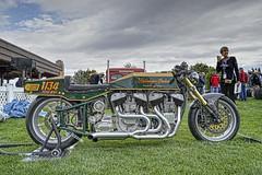 """1940 / 2014 """"Twin Scout"""" Bonneville Salt Flats Racer (dmentd) Tags: 1940 racer 2014 bonnevillesaltflats twinscout"""