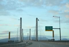 Golden Ears Bridge (Ian Threlkeld) Tags: canada landscapes nikon scenery driving bc mapleridge goldenearsbridge d7000