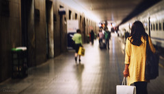 Partire (chiara.santi) Tags: voyage santa trip italien italy station train jaune tren florence europa europe italia maria zug amarillo viajes gelb giallo tuscany florencia salida caminar firenze toscana stazione treno italie estacin arrive reise florenz gehen dpart tuscan partir cinemtica treni abfahrt partenza cinematiclighting llegada novella binario marcher camminare arrivo ankunft toscan filmisch partire binr binaire dclencher cinmatographique losfahren nikond5100