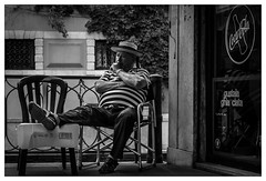 Venedig (berlinerin1197) Tags: from street travel italien people urban blackandwhite bw italy digital canon photography eos photo italia foto fotografie top venezia venedig schwarzweis travelblackandwhite berlinerin1197