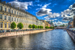 Griboyedov Canal (Kev Walker ¦ 7 Million Views..Thank You) Tags: stpetersburg russia hdr 2015 kevinwalker
