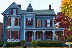 Elegance #2 (avflinsch) Tags: ifttt 500px victorian home paint blue red autumn