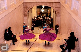 CAAMFest35 Opening Night Gala: Chitresh Das Institute dancers make their entrance