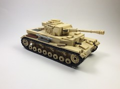 Panzer IV Ausf G (mjbricks(flose master)) Tags: panzer tank german tan brickarms iv lego