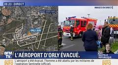 إطلاق نار.. وإخلاء مطار أورلي في باريس (ahmkbrcom) Tags: باريس