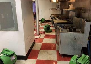 Lake Almanor Kitchen Water Damage
