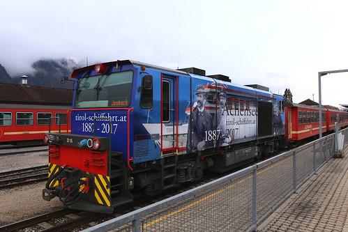 Zillertalbahn D15 Achensee Tirol Schiffahrt, Jenbach