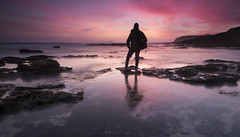Autorretrato al atardecer (jojesari) Tags: ar117g autorretrato sunset atardecer ocaso puestadesol largaexposición 417 playademajor sanxenxo pontevedra galicia longexposure jojesari suso