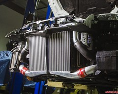 GTR Agency Power Intercooler Upgrade - Supports up to 1500HP (vividracing) Tags: agencypower boost gtr intercooler nissan piping r35 turbo upgrade