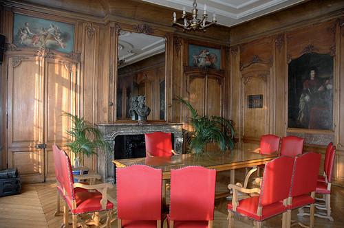 Salle des mariages, hôtel de ville de Boulogne-sur-Mer