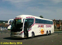 James Cooper & Sons Irizar bodied Scania K340EB6 YN07EYG in Cowes 17 June 2014 (IslandYorkie) Tags: buses isleofwight cowes coaches scania singledeckers scaniabuses k340eb6 irizarbody busesinthesouthofengland busesontheisleofwight jamescooperson yn07eyg